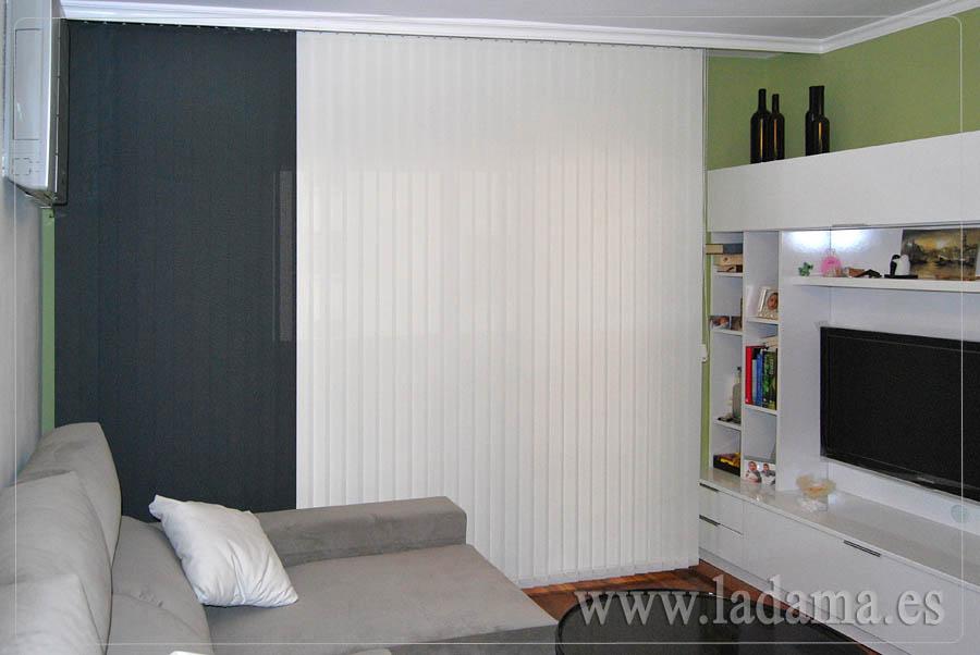 Cortinas verticales screen decorativas zaragoza - Cortinas verticales online ...