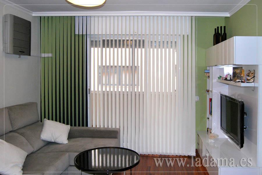 Cortinas verticales screen decorativas zaragoza - Cortinas de screen ...