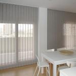 cortinas verticales screen gris