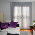 cortinas verticales screen lamas grises