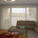 cortinas verticales screen marrones