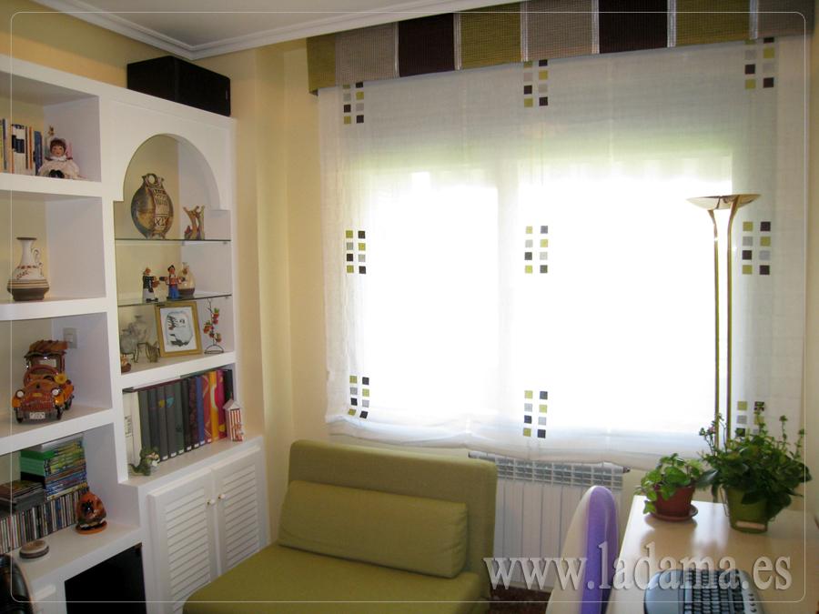 Estores sin varillas confeccionados a medida - Tipos de cortinas para salon ...