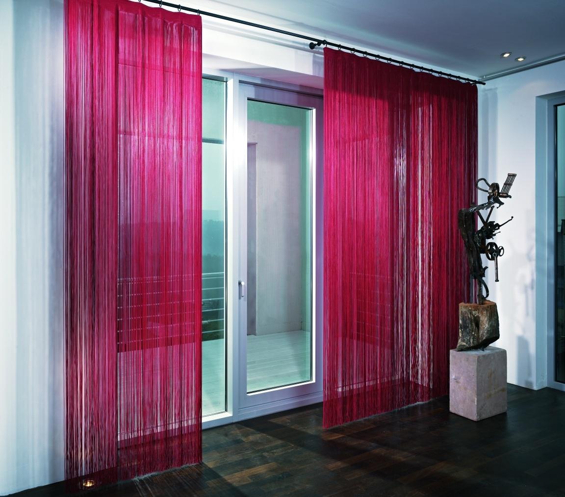 cortinas de hilos o de cordon en zaragoza