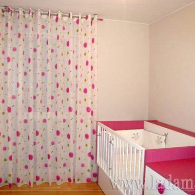 Fotograf as de cortinas juveniles la dama decoraci n - Cortinas habitaciones juveniles ...