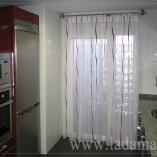 cortinas con barra para cocina