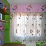 Cortinas Infantiles Forradas y Bando