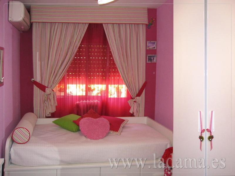 Cortinas infantiles y juveniles en zaragoza for Cortinas dormitorio modernas