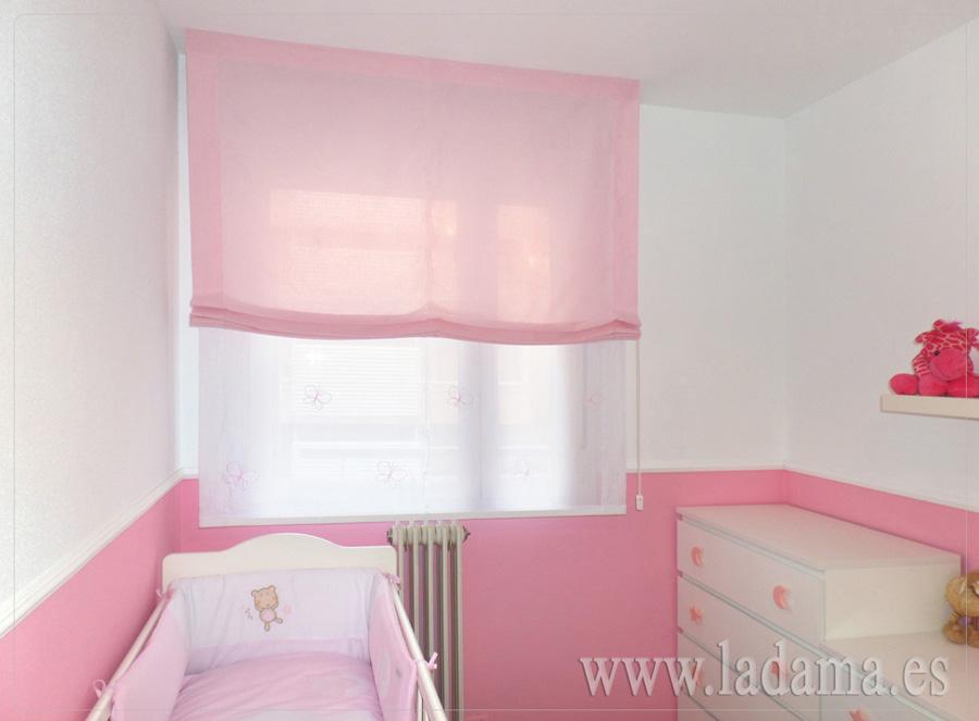 Estores infantiles y juveniles en zaragoza for Cortinas habitacion bebe