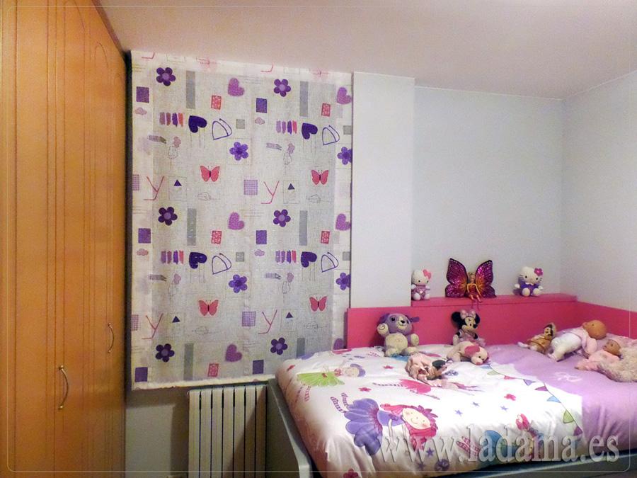 Estores infantiles y juveniles en zaragoza - Dormitorio juvenil nina ...