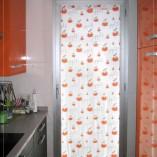 Visillo puerta cocina