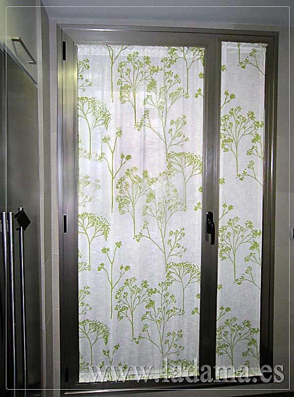 Cortinas de cocina en zaragoza for Cortinas decorativas para puertas