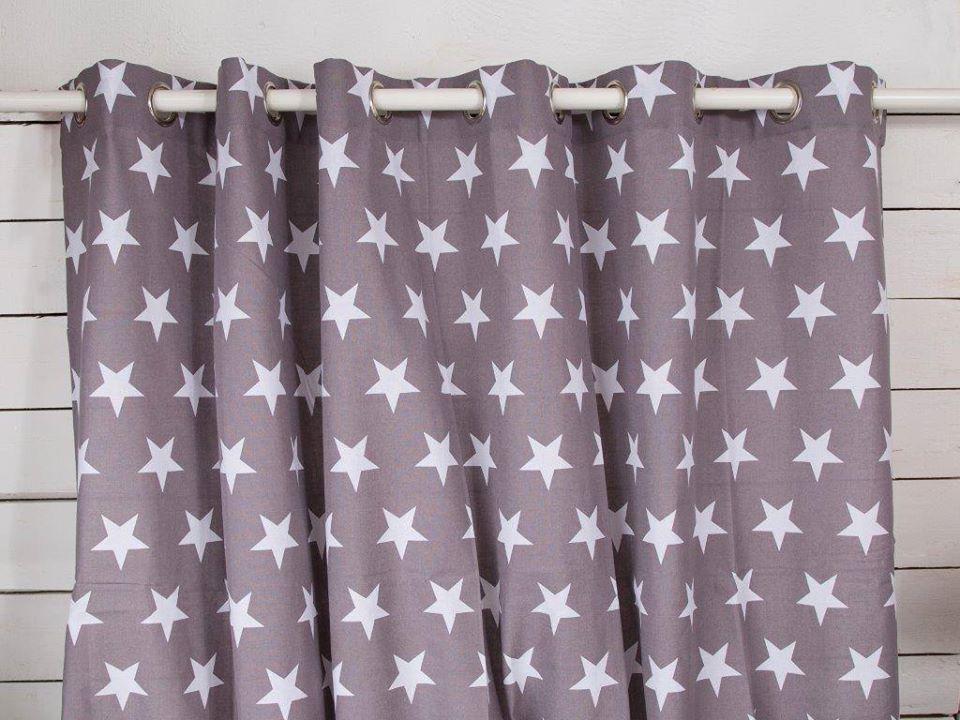 Como hacer cortinas con ollaos stunning cortina con for Ollaos para cortinas