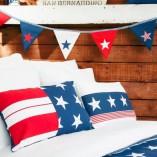 Telas juveniles para ropa de cama y cojines: Dreams Marino