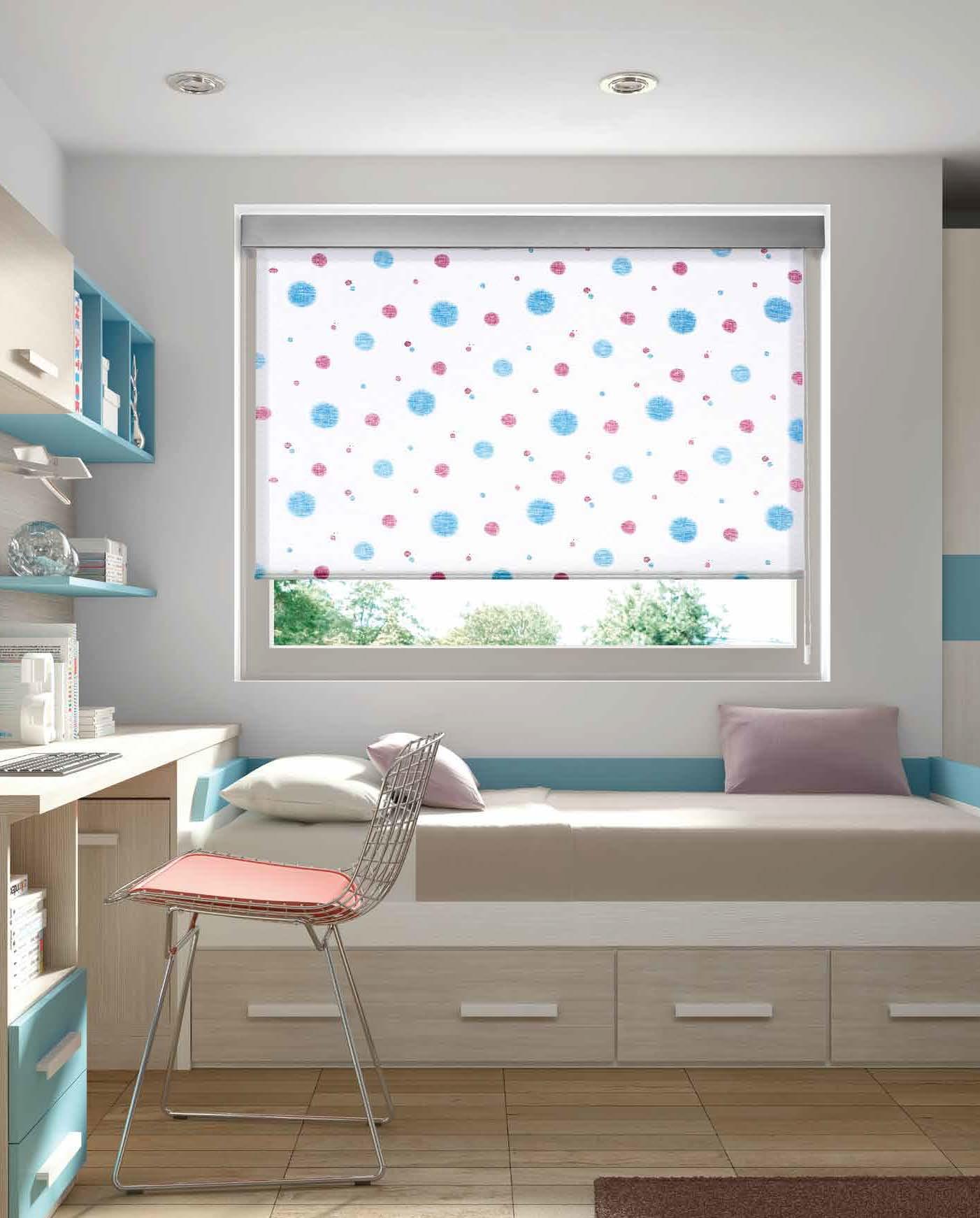 Estores enrollables juveniles roller panel en zaragoza - Cortinas dormitorios juveniles ...