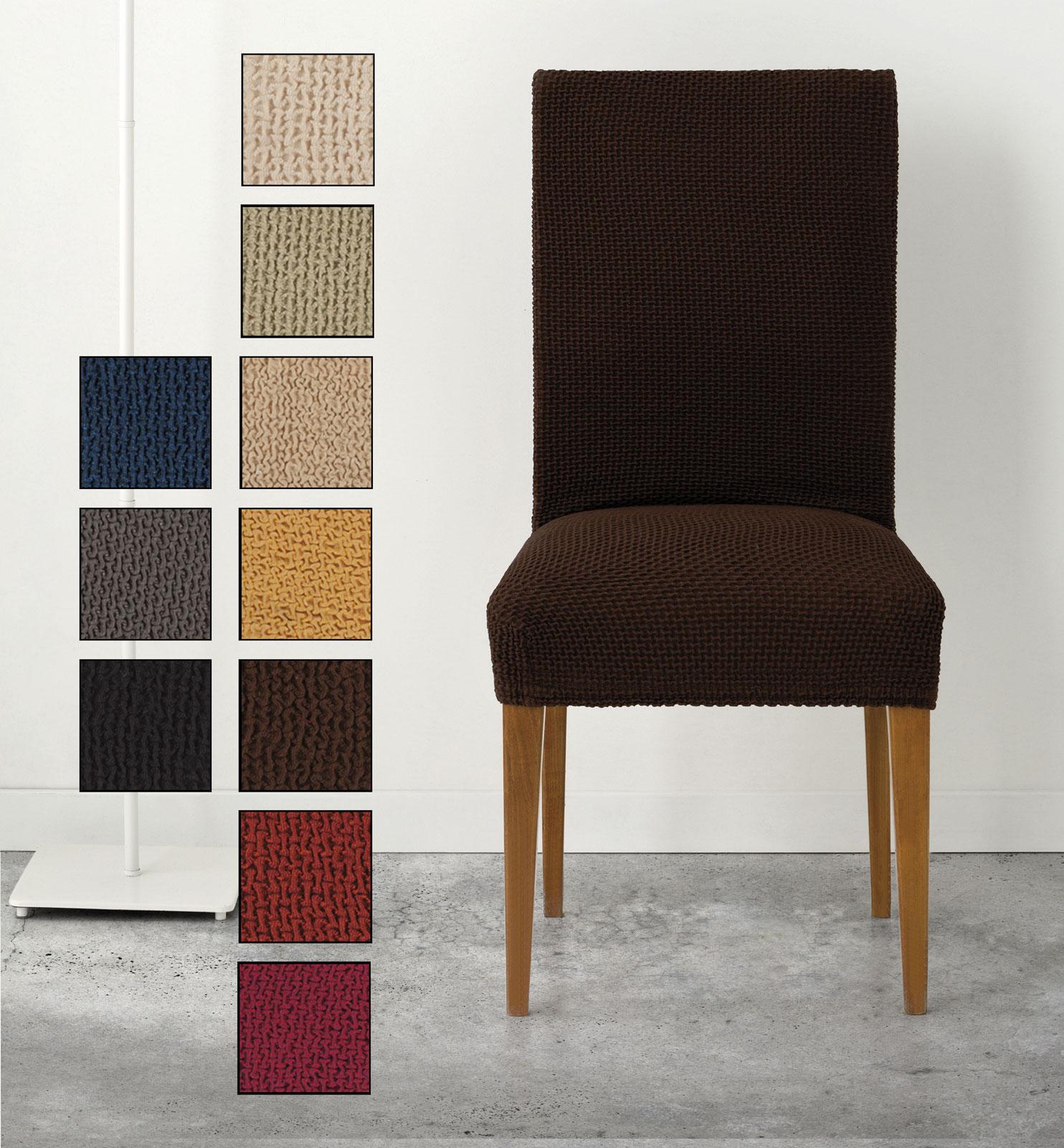 Fundas elasticas para sillas de comedor cheap drawihi pieza cubierta de asiento funda fundas - Funda silla escritorio ...