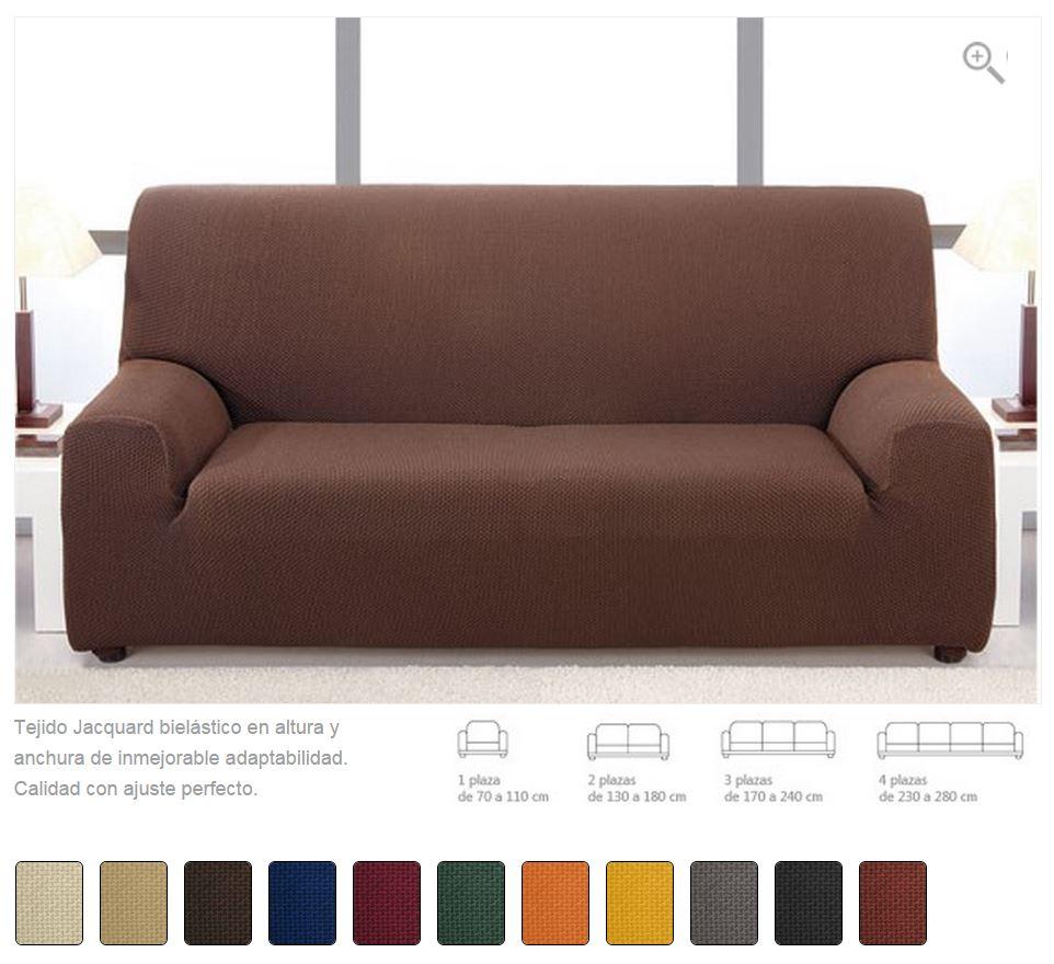 Fundas de sof biel sticas la dama decoraci n - Fundas elasticas para sofa ...