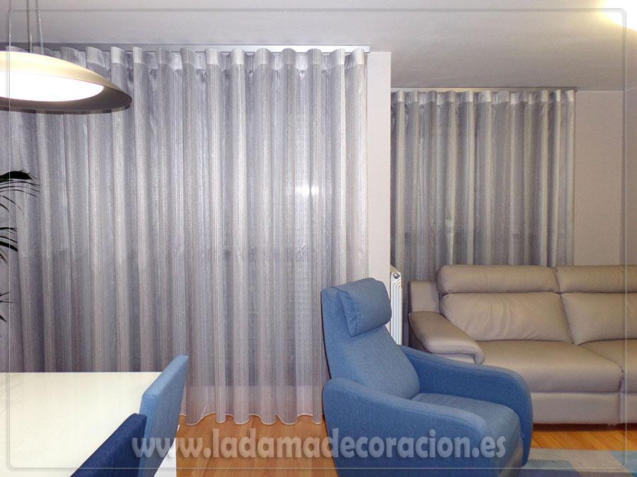 Cortinas onda perfecta para un acabado espectacular for Ganchos para cortinas de riel