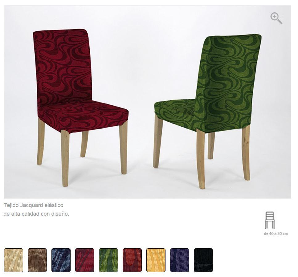 Fundas para sillas. Disponibles en diferentes tejidos y multitud de ...