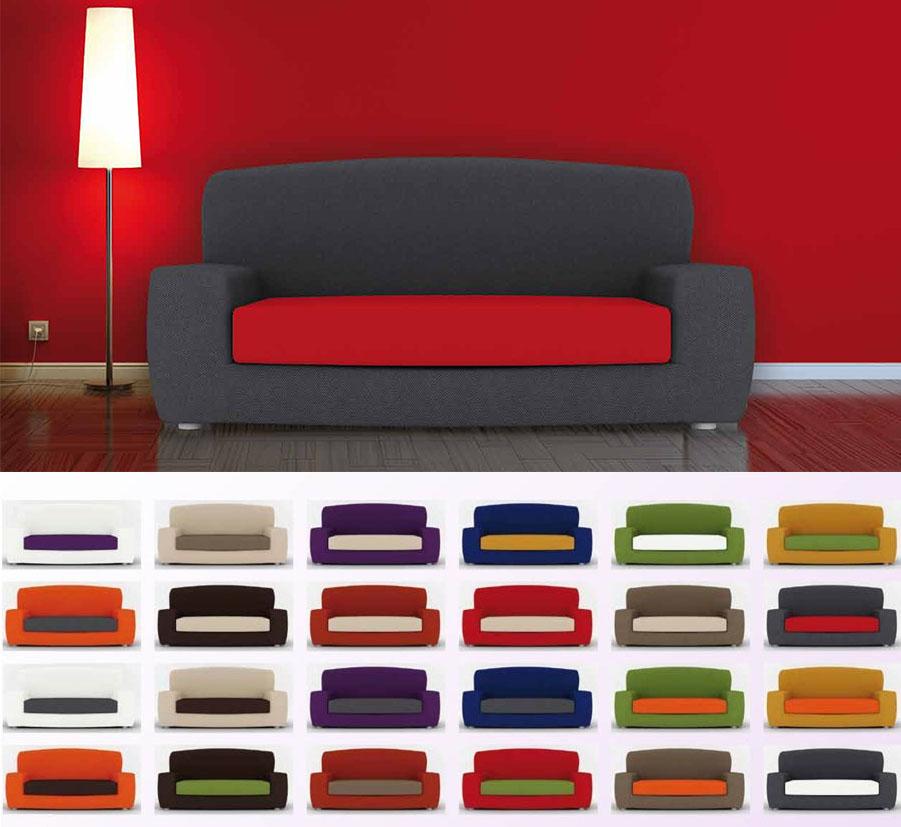 Fundas sof duplex coj n separado la dama decoraci n - Telas para fundas de sofa ...