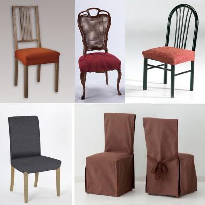 Fundas para sof sill n chaiselongue la dama - Fundas elasticas para sillas ...