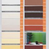 Gama de colores de Cortinas Verticales de Loneta Resinada