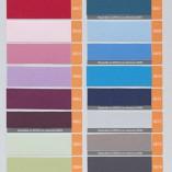 Colores para Cortinas Verticales de Loneta Resinada