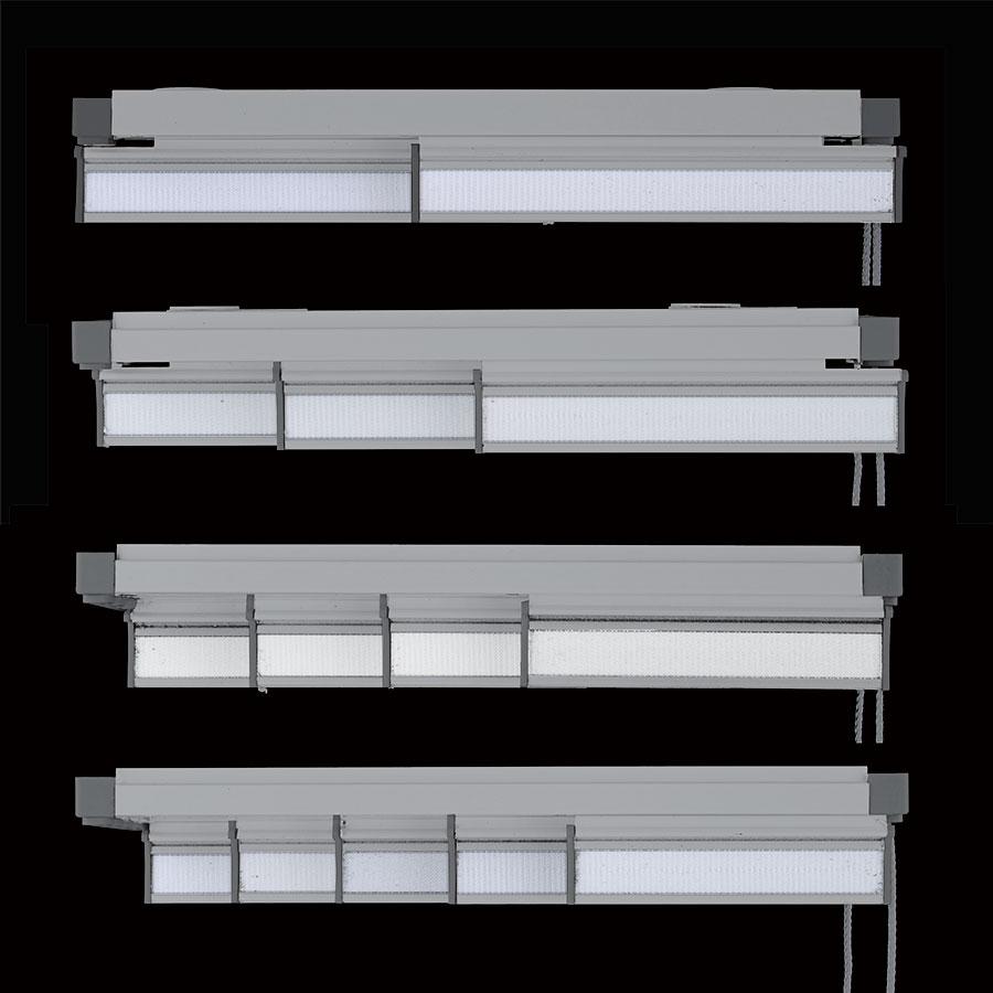 Riel panel japon s gris la dama decoraci n for Panel japones blanco y gris