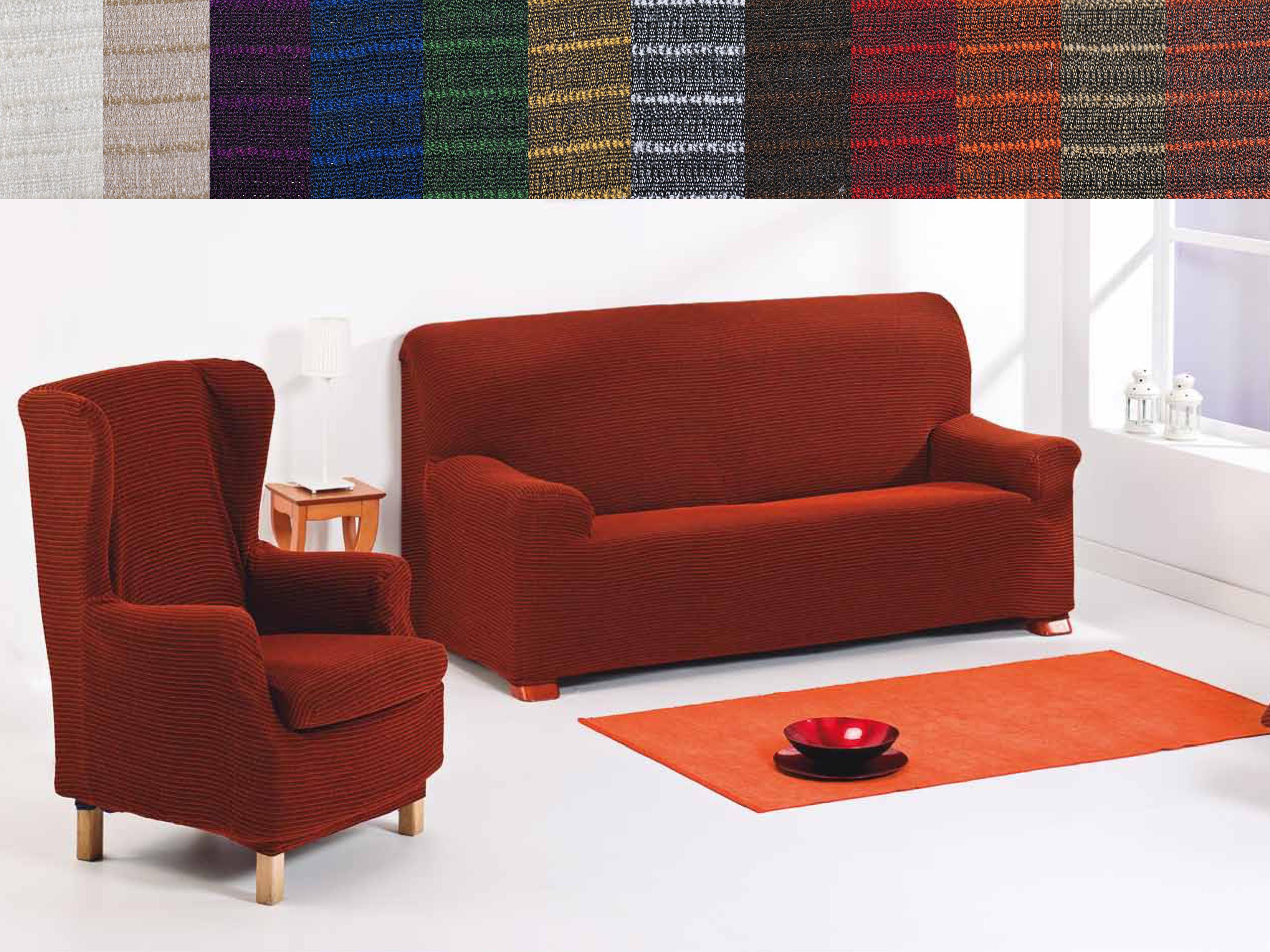 Casas cocinas mueble fundas universales para sofas - Fundas universales para sofas ...