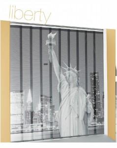 Cortinas Verticales Fotográficas Liberty tejido base Edel