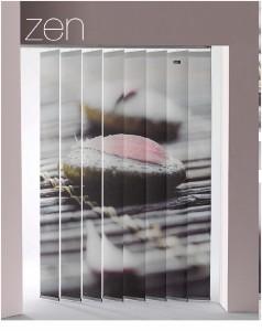 Cortinas Verticales Fotográficas Zen lamas 250mm