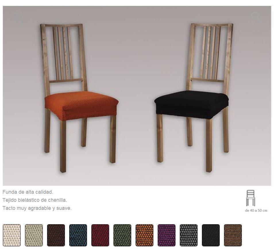 Fundas para sillas la dama decoraci n - Fundas ajustables para sillas ...