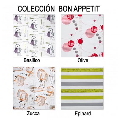 Telas de Cocina. Colección Bon Appetit