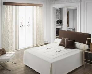 Cortinas y colcha edred n n ger c 02 la dama decoraci n - Colchas y cortinas modernas ...
