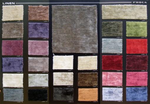 Terciopelo linen froca la dama decoraci n - Telas para tapiceria precios ...