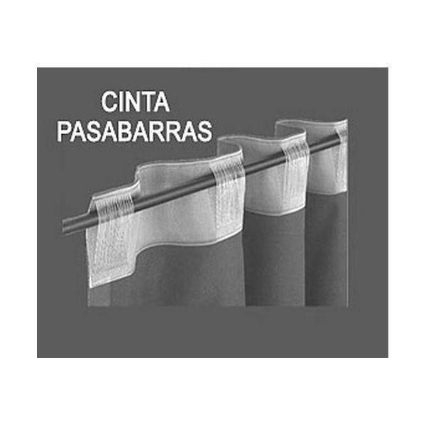 Cintas pasabarras para cortinas la dama decoraci n - Barras de pared para colgar ropa ...