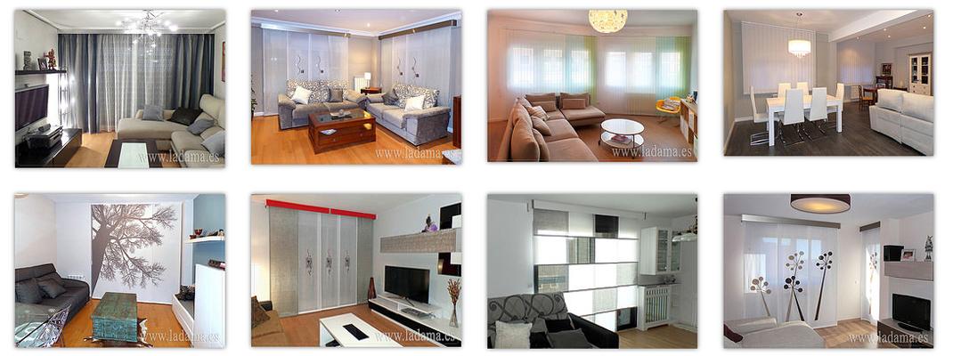 Fotograf as de ambientes cortinas en salones dormitorios - Salones modernos 2015 ...