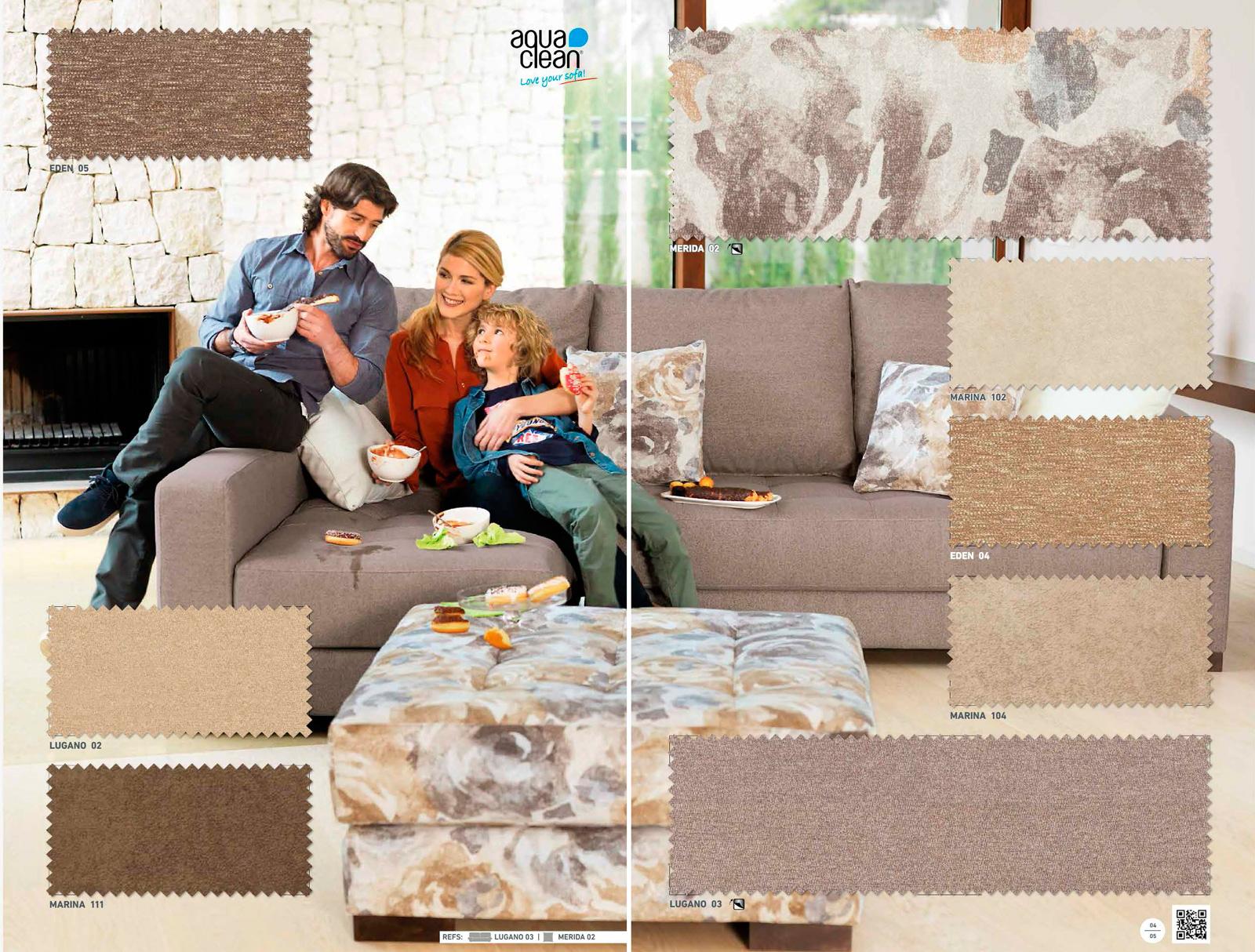 Tapiceria rustika la dama decoraci n for Catalogo tapicerias para sofas