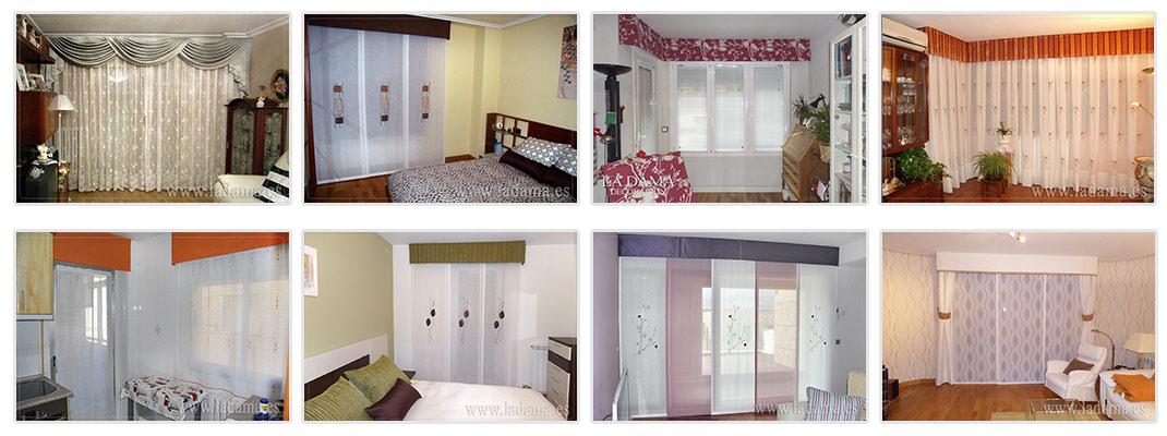 Bandos y Volantes de cortinas