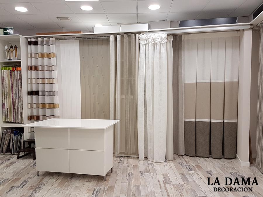 Empresa y servicios la dama decoraci n - Tiendas de cortinas online ...