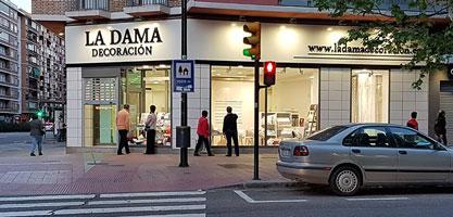 tienda La Dama Decoración de Andrés Vicente