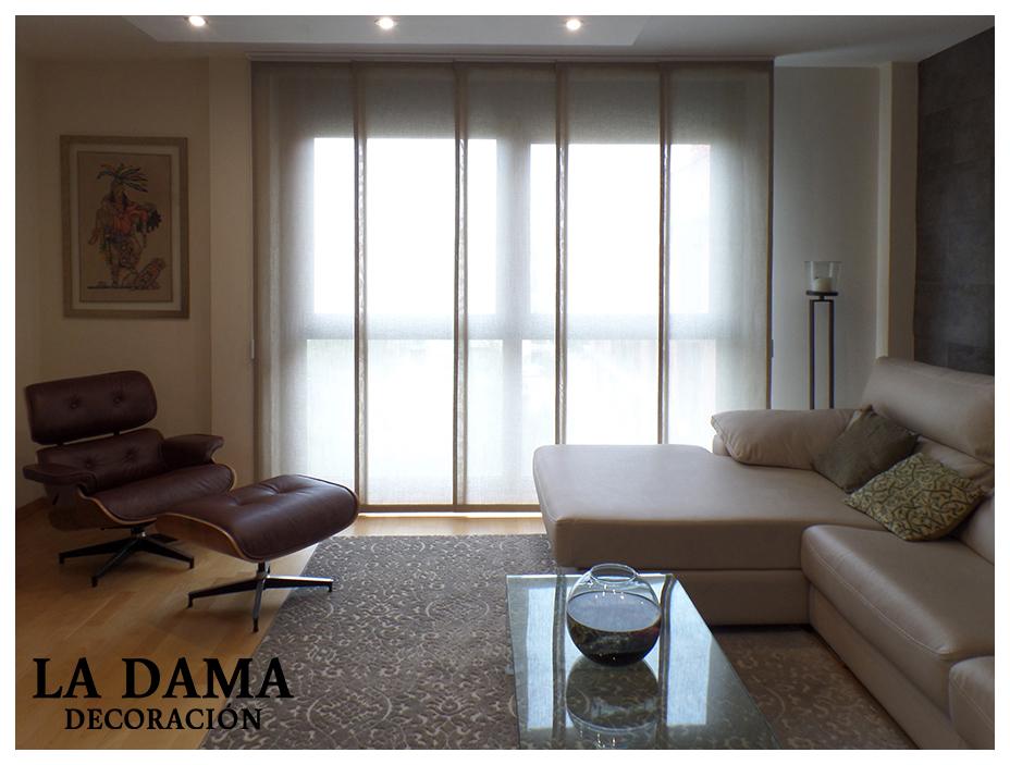 cortinas tipo panel japons
