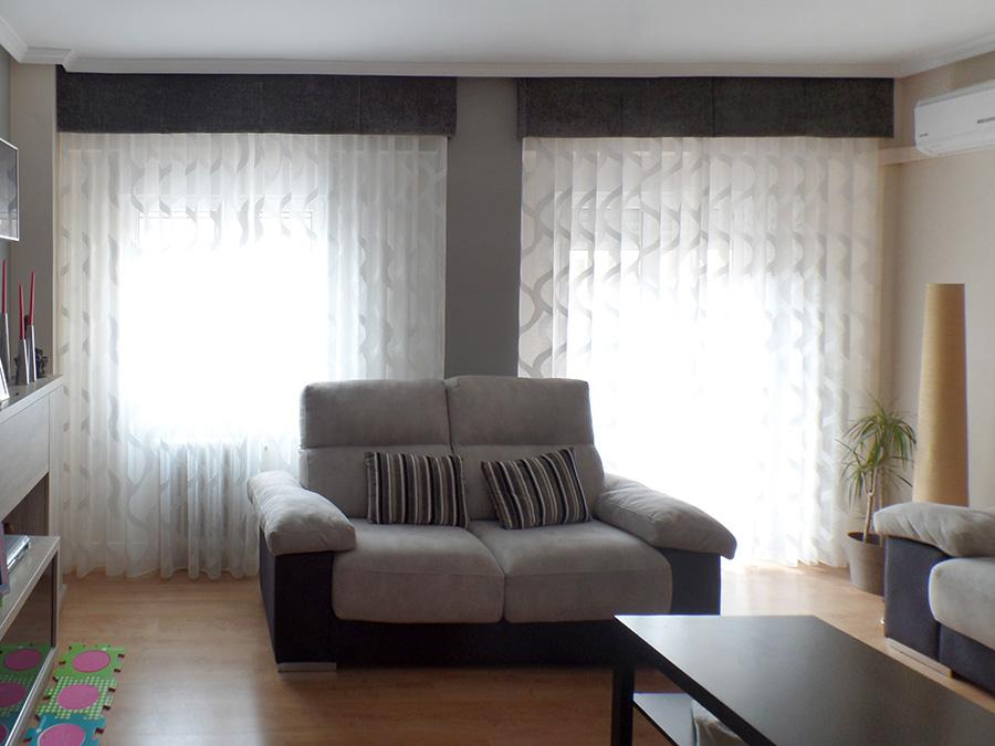 Galer as decorativas para cortinas la dama decoraci n - Cortinas con volantes ...
