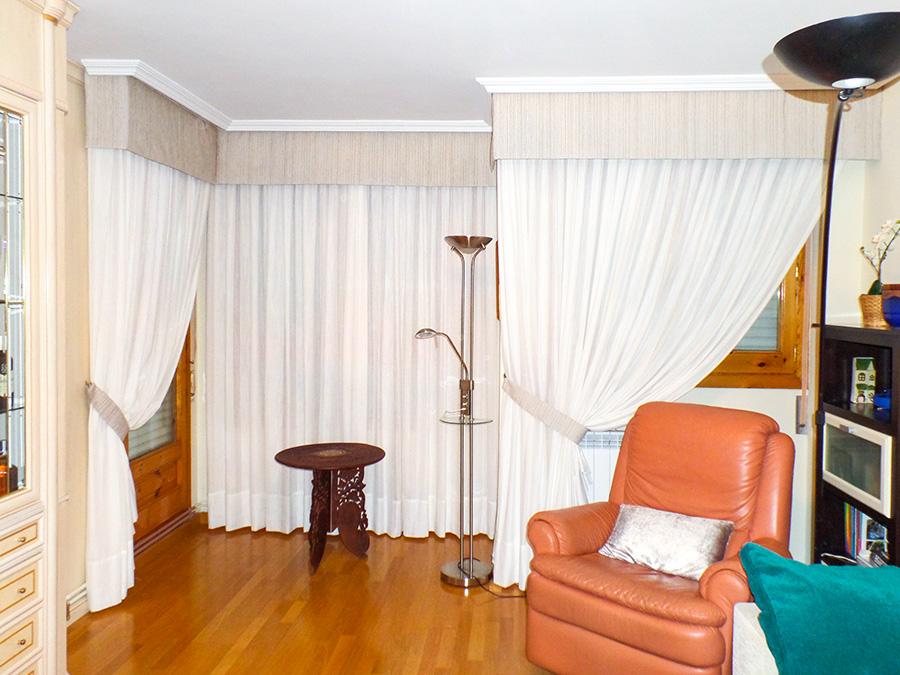Galer as decorativas para cortinas la dama decoraci n - Volantes de cortinas ...