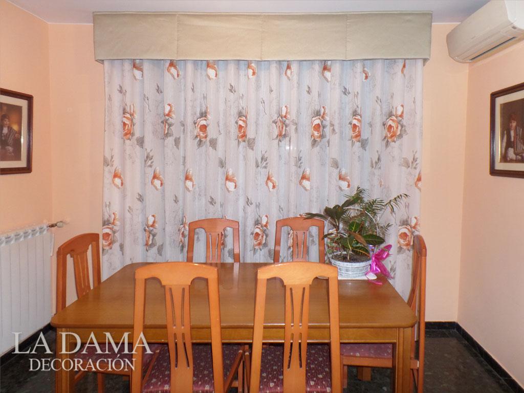Volantes para cortinas de estilo cl sico la dama decoraci n for Cortinas naranjas