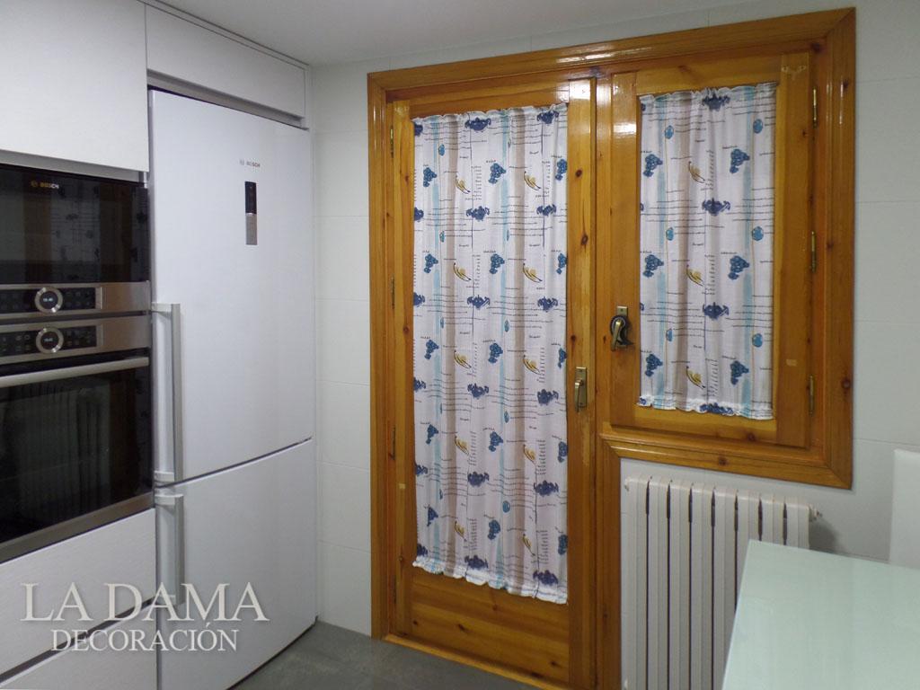 Telas de cortinas de cocina caf au lait kitchen curtain for Telas cortinas cocina