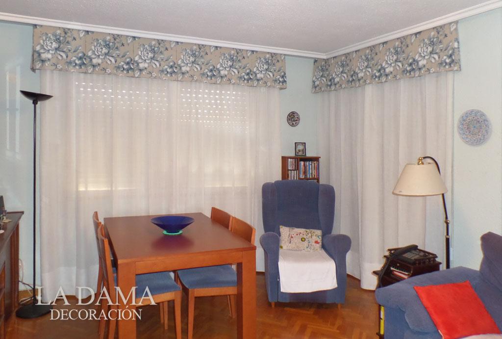 Volantes para cortinas de estilo cl sico la dama decoraci n for Cortinas estilo clasico