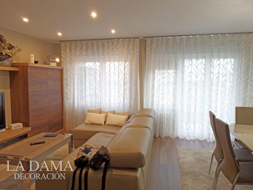 Cortinas modernas - Ver cortinas para salon ...