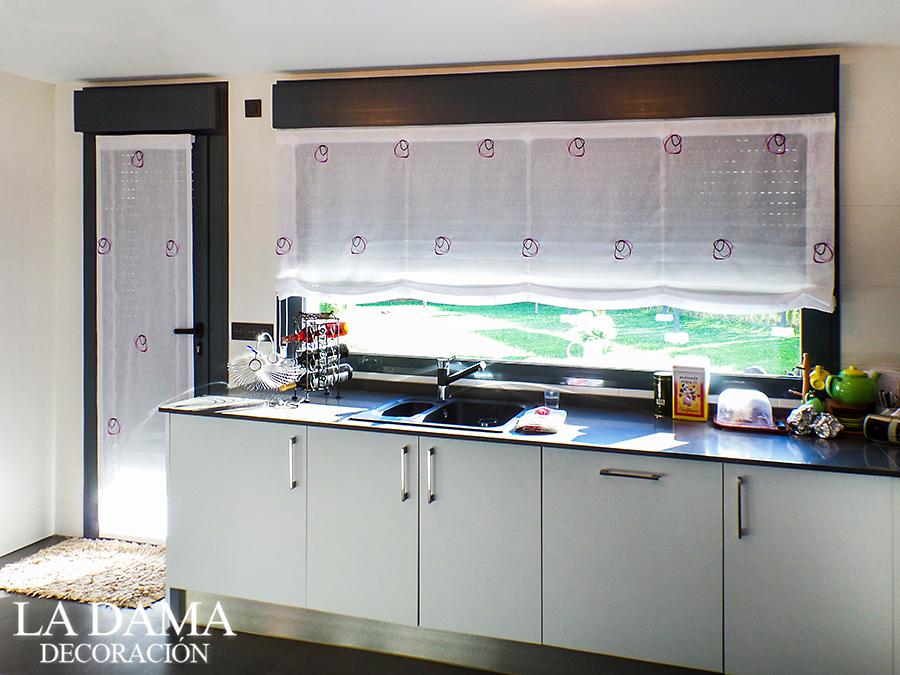 Cortinas para la cocina la dama decoraci n for Simulador cocinas online