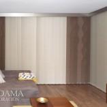 Cortinas Verticales con Formas Murano Con Galería