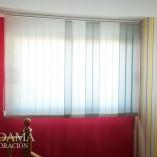 cortinas verticales de loneta resinada